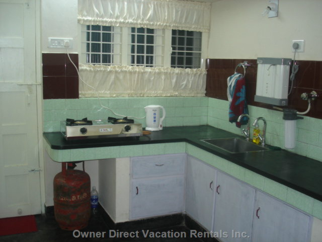 Gas Stove, Uv Water Filter, Electric Kettle, Etc. In Shared Kitchen