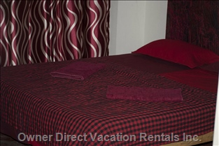 Separate 3rd Bedroom in Front of the Villa. Its Bathroom is Not Ensuite and has no Air Conditioning
