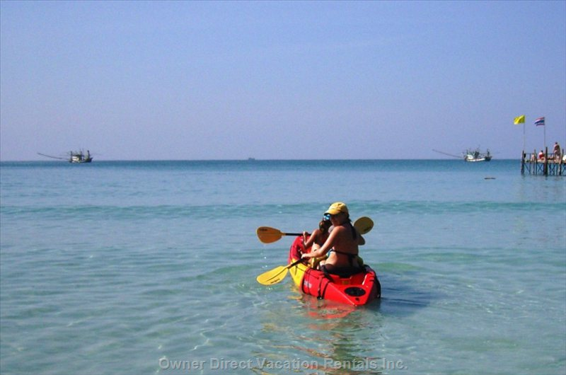 Activities on Koh Mak: Kayaking