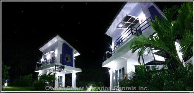 Night Picture of the Villas
