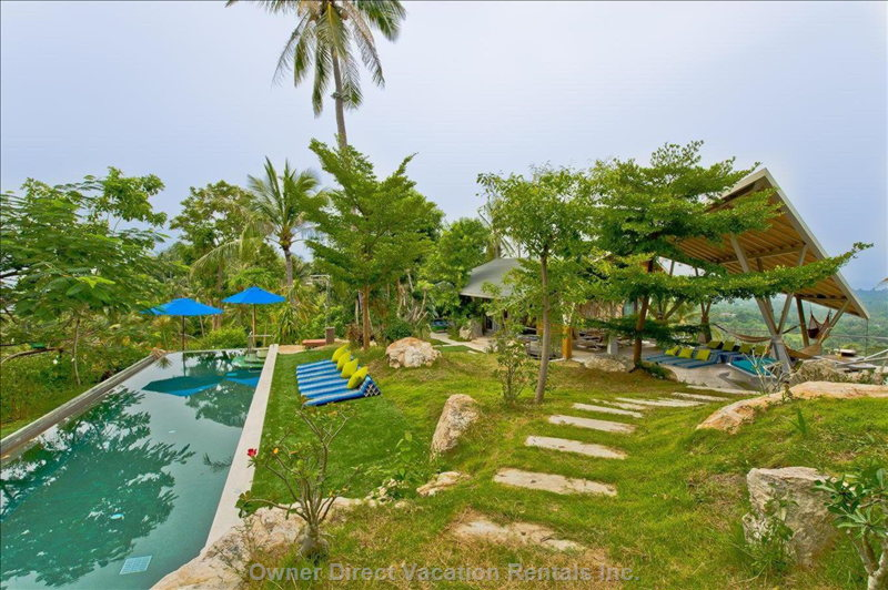 360 Degree Top Garden and Pool