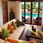 Main Lounge Overlooking Private Pool and Gardens