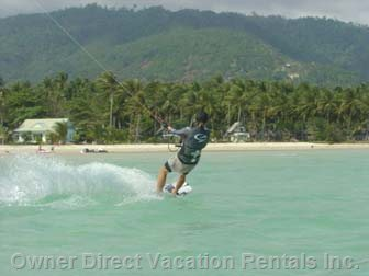 Kite Boarding in Winter Months