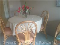 Dining Table Seating for 4