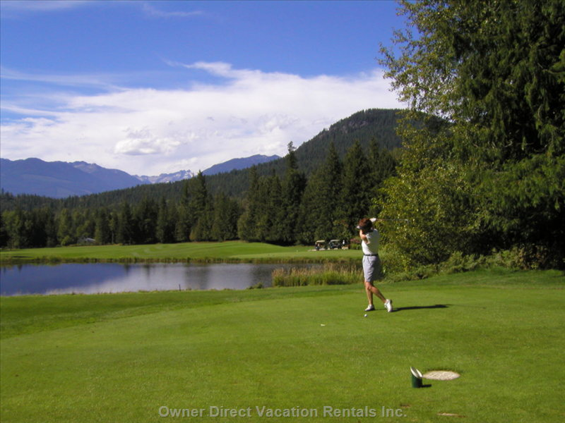 Famous 18 Hole Golf Course at Kokanee Springs
