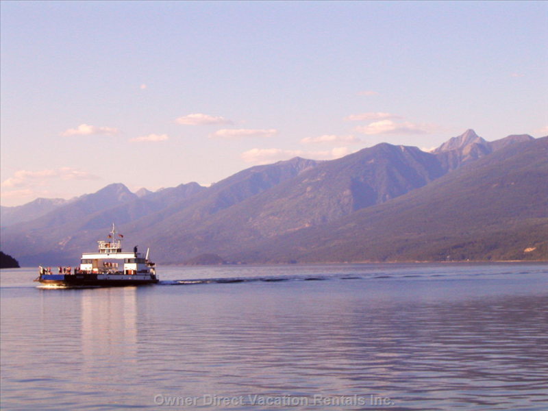 The Longest Free Ferry in British Columbia is Just down the Road