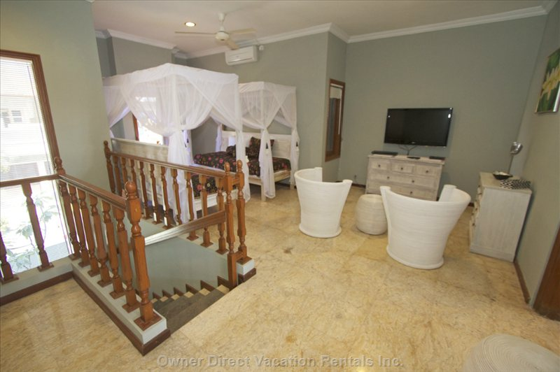 Upstairs Family Room and 4th Bedroom