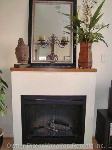 Living Room - Electric Fireplace