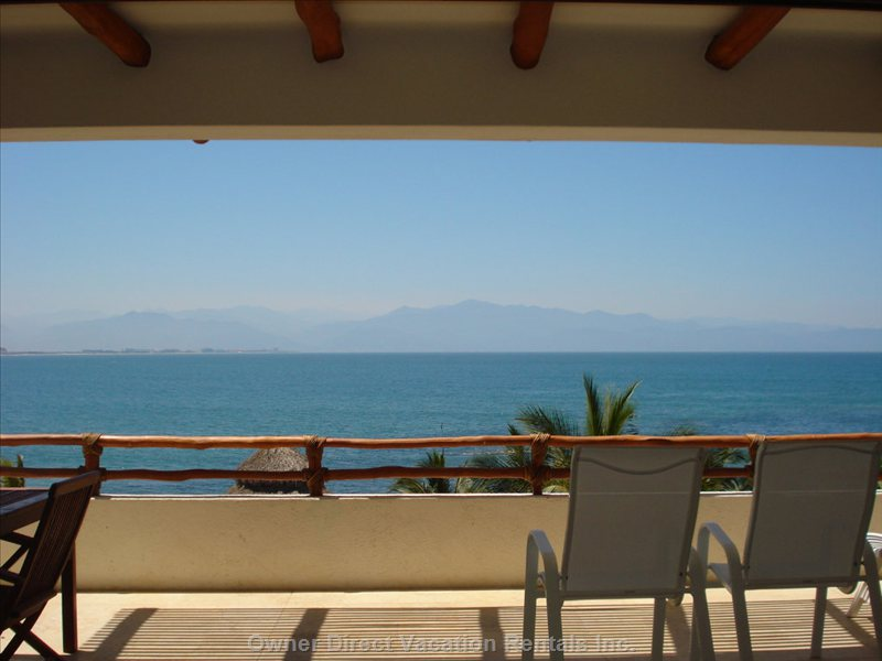 The Awesome View from the Balcony - you Can Wake up to this View Every Morning!!