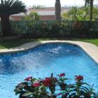 Large Swimming Pool with Private Tropical Gardens Surrounding.