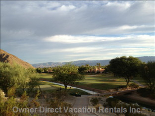 A Lovely Shot of the Palmer Course from a Golf Cart Trail.