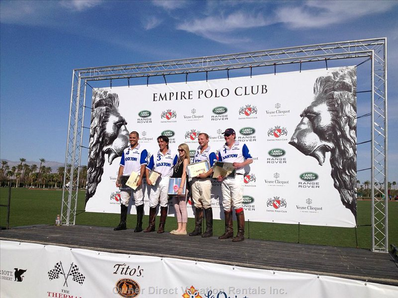 2016 See Usa at Polo Grounds.Also Meet World Known Polo Players 10 Minutes from Condo