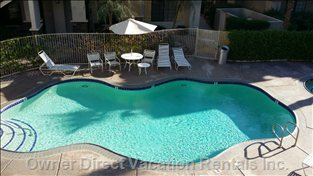 After your Meal you Can Also Relax at Pool #2 Enjoy both Pools with Hot Tubs