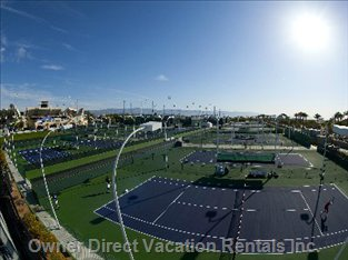 Tennis Lovers.Must See Professional Tennis at the Indian Wells Tennis Tournament