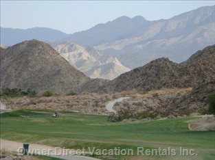 The Best and the most Beautiful La Quinta Mountain course.10 Min Walk from Condo
