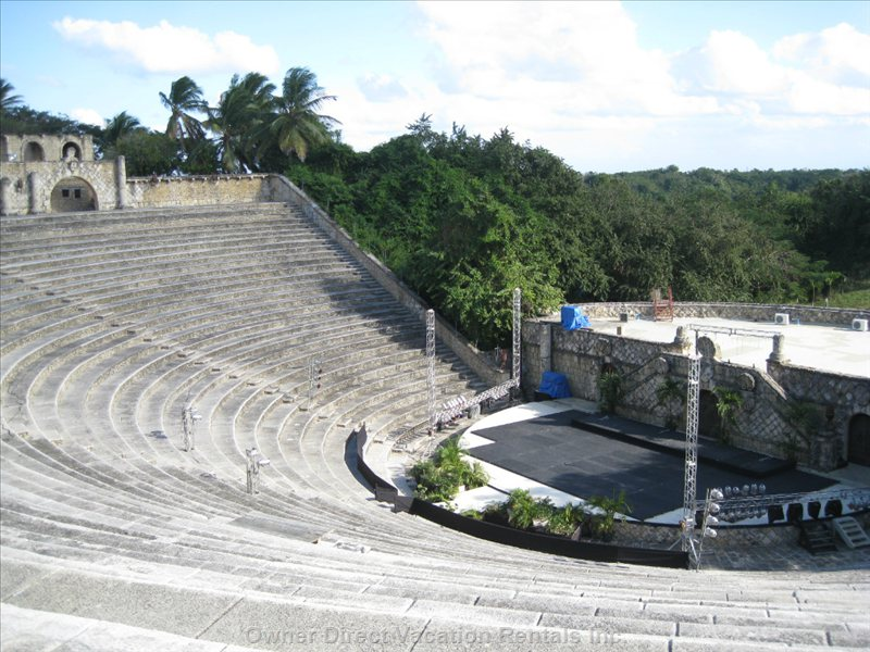 Amphitheater in Altos DE Chavon (Inaugurated by Sinatra)