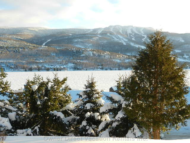 Condo with spectacular view of lake and mountain, ID#205806