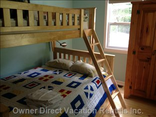Secondary Room, Bunk Bed Sleeps 3-4