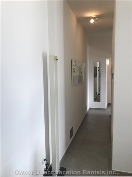 Same Hallway, Leading to Bedrooms