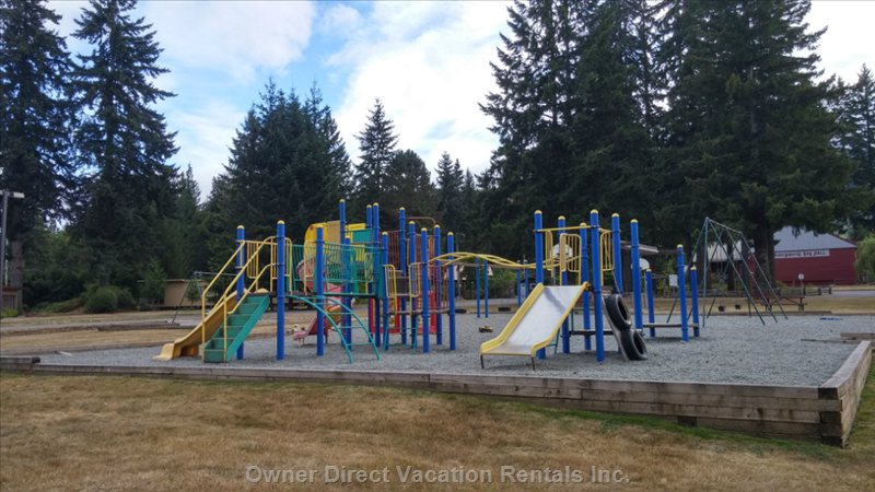 Children's Playground - 5 Minute Walk Away