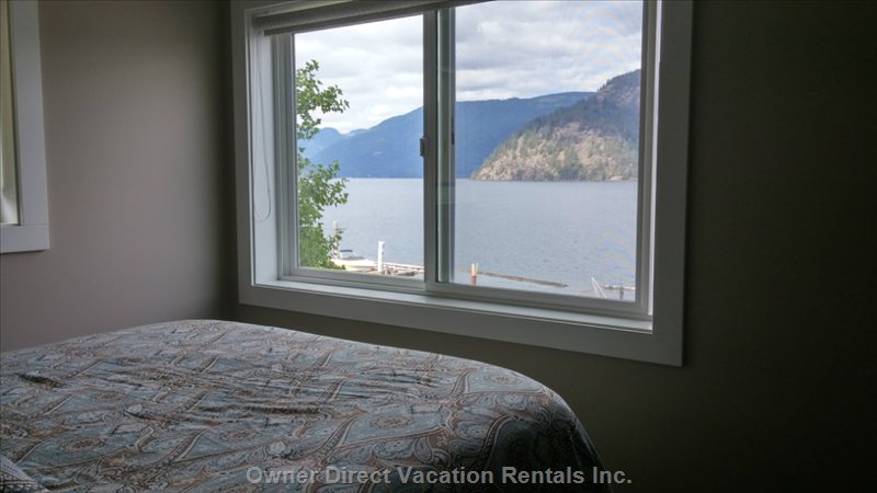 2nd Upstairs Bedroom with Stunning Views