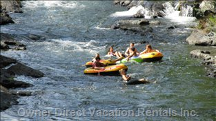 Cowichan River River Rafting is Only 15 Minutes Away - There are Also Lots of Hiking Trails Nearby
