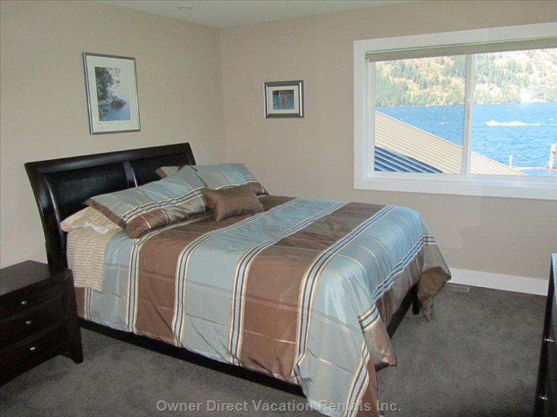 Lake Views from Master Bedroom