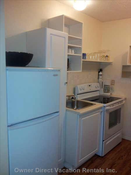 Kitchen has all Amenities, Dishes and Cooking Utilities