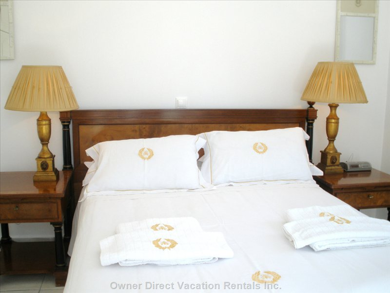 Time to Sleep & Dream Away the Bedrooms are Romantic, & Furnished in the Highest Standards.