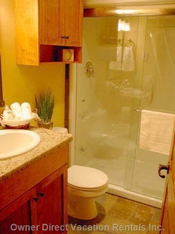 En Suite with Steam Shower.