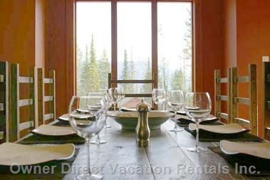 Dining Room with Impressive Views