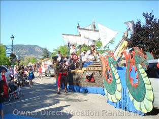 Peachland Canada Day Parade - Peachland is Famous for its Canada Day Parade
