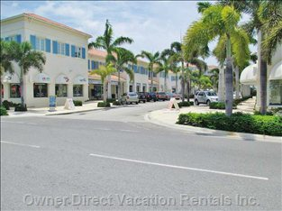 Shopping at Grace Bay Village Minutes Away!
