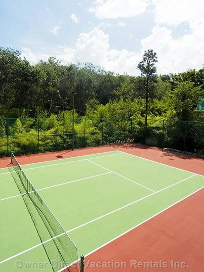 The Tennis Court within the Gardens