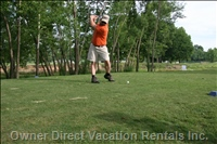 Playing Golf in Poerre Carre - 15 Minutes by Bus