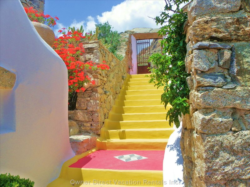 Steps and Colours