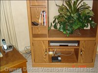"Entertainment Center  - New 37"" Lcd Hd, DVD Player, Telephone, Internet - Hardwired and Wireless"