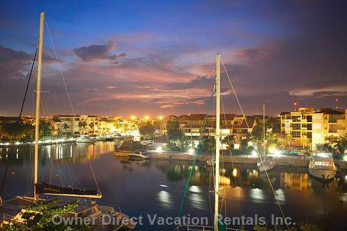 Puerto Aventuras by Night!