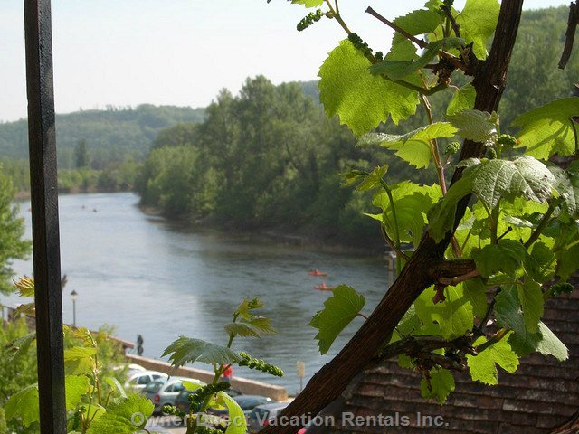 Enjoy this Riverview from the Terrace