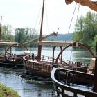 Enjoy a Ride down the River on a Garbar, Interesting History of  the Area. Starts and Returns Just Steps from the House