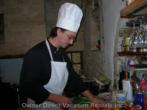 We Can Arrange for a Private Chef