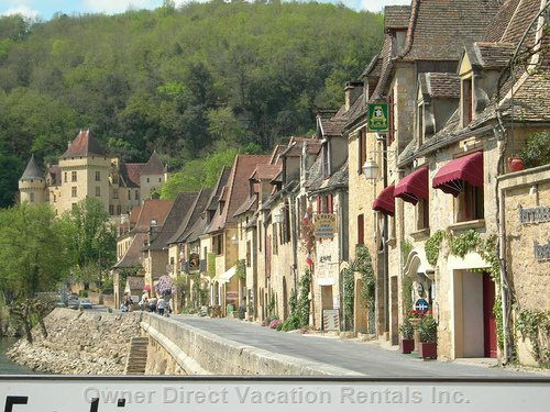 The Charming Village of La Roque Gageac, Voted one of the most Beautiful Villages in France