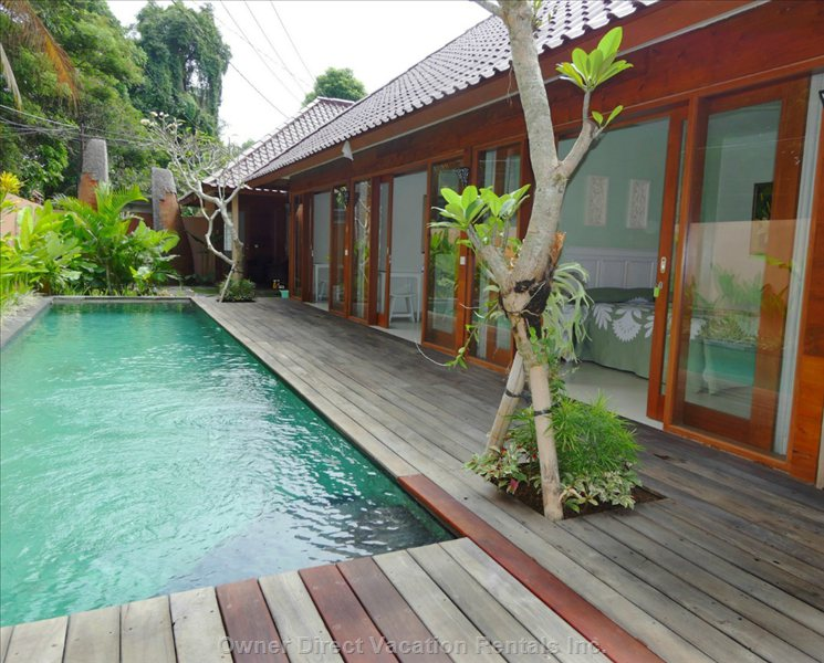Beautiful Lap Pool Shared with Only 6 Rooms