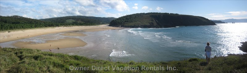 Esteiro Beach, 10 Min Drive Or 25 Min Walk Or 10 Min Bike Ride from the House. Great Beach for Surfing!