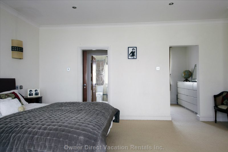 Bedroom 1, with Dressing Room & En-Suite Bathroom