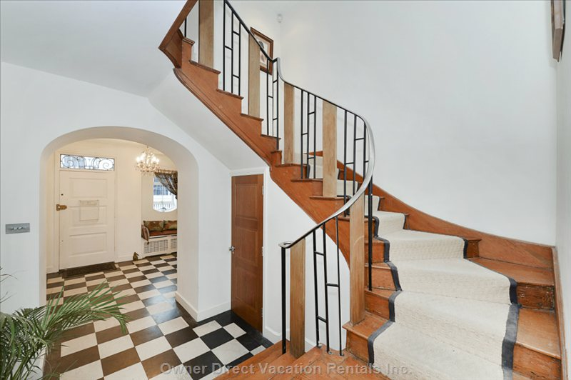 Entrance Hall & Stairs