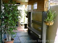 Private Front Porch Sitting Area - Take a Break!