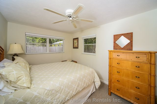 Master Bedroom, in a Peaceful Location to the Back of the House