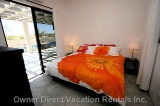 3rd Bedroom in Casita has View and King Bed