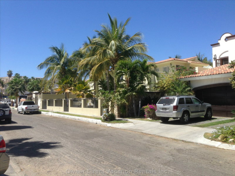 Villas Baja is Located on a Small Cul-de-Sac with along with Custom Build Homes on the Golf Course.  Very Quite, no Traffic